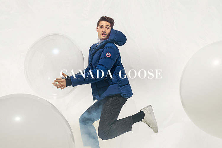CANADA GOOSE <br /> LIGHTWEIGHT DOWN CAMPAIGN